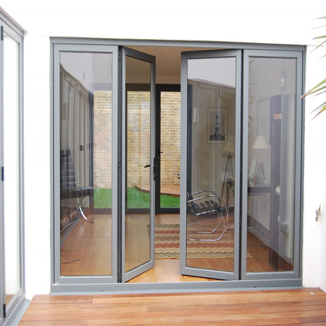 Frameless double or single open swing glass door for Frameless interior glass doors