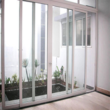UPVC frame Double glass grid design sliding door, China high quality door - 副本