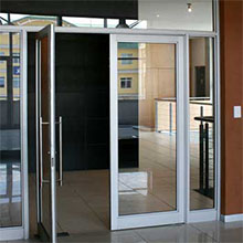 Aluminum frame French door Glass Swing Door