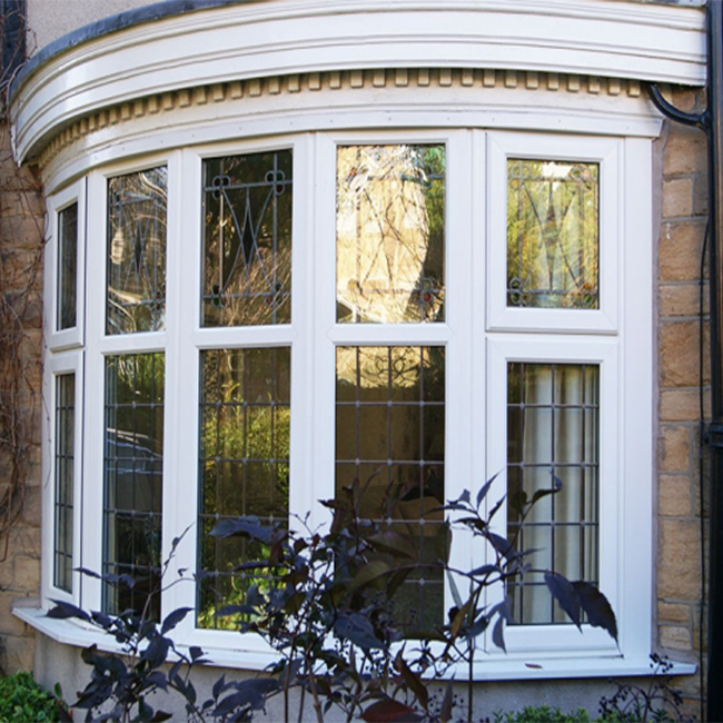 Toughened Glass Aluminum Bow And Bay Window For Balcony Used